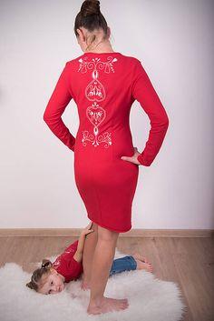 Červené šaty - folk #detskamoda#jedinecnesaty#handmade#originalne#slovakia#slovenskydizajn#móda#šaty#original#fashion#dress#modre#ornamental#stripe#dresses#vyrobenenaslovensku#children#fashion#rucnemalovane#folk Folk, Bodycon Dress, Dresses With Sleeves, Long Sleeve, Fashion, Moda, Body Con, Popular, Sleeve Dresses