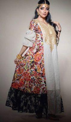 "Best 12 : ""Black, Tassels and Colors! – Page 408420259949560426 – SkillOfKing. Kaftan Designs, Little Girl Dresses, Girls Dresses, Arabic Dress, Eid Outfits, Arab Fashion, African Print Fashion, Mode Hijab, Traditional Dresses"