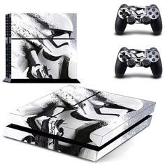 PS4 Console Skin - Star Wars Collectio #ps4 Console Skin - Star Wars Collection #Playstationtips