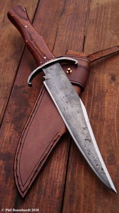 Cool Knives, Knives And Swords, Leather Working, Metal Working, James Bowie, Knife Making Tools, Dagger Tattoo, Handmade Knives, Shotguns