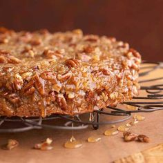 Easy Fall Baking Recipes for BHG - Honey-Glazed Buttermilk Coffee Cake Fall Desserts, Just Desserts, Delicious Desserts, Dessert Recipes, Yummy Food, Dessert Healthy, Cupcakes, Cupcake Cakes, Food Cakes