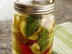 Pickled Green Tomatoes #Recipe