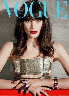 Catherine McNeil for Vogue Mexico April 2015