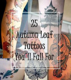 Community Post: 25 Autumn Leaf Tattoos You'll Totally Fall For