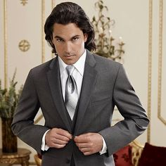 #TuxedoTuesday Go grey with elegance and grace in this stylish Tuxedo.  Browse our line of tux rentals for your next event at blacktietuxes.com.  #tuxedo #tux #groom #groomsmen #groomfashion #weddingfashion #mensfashion #menswear #mensstyle #menstyle #blacktiewedding #blacktie #blacktieformalwear #theknot #theknotbestofweddings #weddingwire #chicagowedding #chicagowedding #suit #suitandtie Black Tie Formal Wear, Tux Rental, Black Tie Wedding, Going Gray, Tuxedos, Groom Style, Chicago Wedding, Suit And Tie, Groomsmen