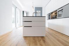 krumhuber.design › Gesamtkonzept FL Island Kitchen, Filing Cabinet, Flooring, Storage, Gallery, Image, Furniture, Home Decor, Kitchens