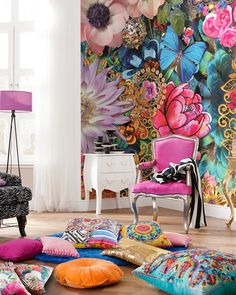 Mellimello Kevena Wall Mural is on Rue. Shop it now.
