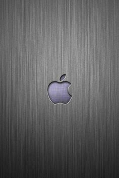 Wallpaper for iPhone Apple Bicolor