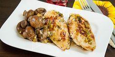 Knoblauchhähnchen mit frischen Champignons Low Carb Ein deftiges Low Carb Rezept zum Mittagessen mit einer feinen Orangennote.