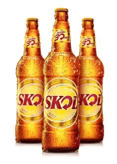 ! I´ve already drank this beer ! From BraSil ! [Skol Pilsen - Standard American Lager - 4.7%abv]