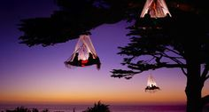 Now that's one way to completely relax #camping #adventure