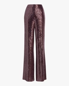 All eyes will be on you in these chic wide-leg pants that are covered in glittering sequins for a glamorous look. Made in China. Graduation Outfits For Women, Harem Pants, Pajama Pants, Women Church Suits, Sequin Pants, Badgley Mischka, Wide Leg Pants, Sequins, Glamour