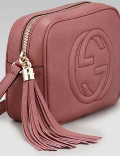 GUCCI Soho Leather Disco Bag 347d91309a85f