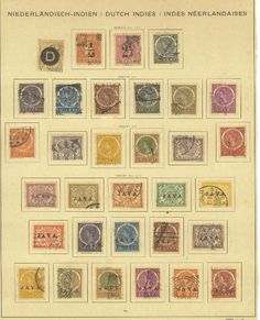 Value of #stamps of #Dutch #Indies? http://sammler.com/stamps/#salink