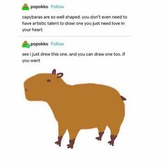 Capybara, Need Love, Your Heart, Cleaning, Draw, Sketches, Painting, To Draw, Drawing