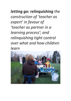 Follow the link to see more about the role of the educator in early learning programs