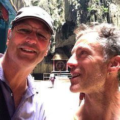 Look who we found in the Batu Caves today. Phil Barrett and family. Just flown in from Nepal and heading home to Tasmania tonight. What's the chance of that? #freakmeeting #batucaves #malaysia #kualalumpur #upsticksngo | Flickr - Photo Sharing!