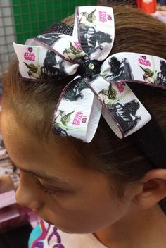 Hey, I found this really awesome Etsy listing at https://www.etsy.com/listing/229413366/star-wars-glitter-headband-or-bow-ready