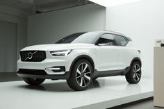 "Production #Volvo XC40 ""very close"" to the Volvo Concept 40.1"