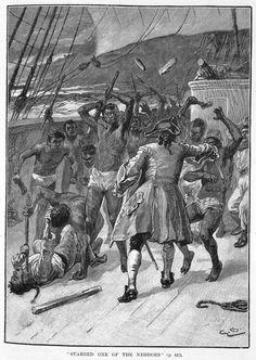MIDDLE PASSAGE / Revolt Aboard Slave Ship, late 18th cent..jpg