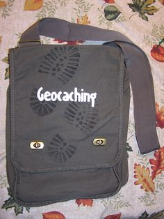 Geocaching Field Bag.  How fun! OMG I didn't even think about it...I need a 31 bag just for geocaching now :-)