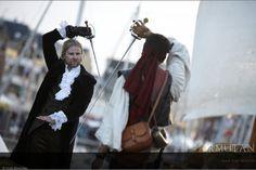 ©#armutan ©#sophiebenavides #pirates #duel #rapière #épée  #port #animation #spectacle #fête #mer #flibustiers