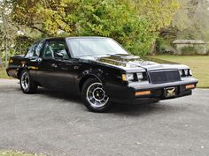 Buick Grand National Gnx, 1987 Buick Grand National, American Auto, American Classic Cars, Donk Cars, Buick Skylark, Gm Car, Buick Regal, Road Rage