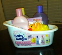 Baby Magic giveaway  I really would love a chance to try Baby Magic products on the Little Ling. Also, the bathy shaped holder is really cute.