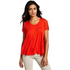 Kenneth Cole Women`s Mixed Media Knit Top $69.50