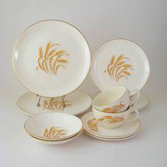 Grandma had this china when I was little.  I love it.