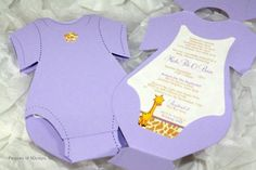 homemade baby shower invitations - Baby Shower Decoration Ideas