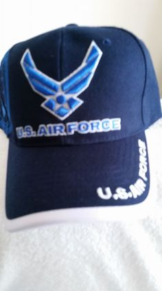 U.S. Air Force New Blue Ball Cap with shadow logo and tags w free shipping 7f435ae890aa
