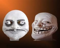 Rage Face Masks  August 1, 2011 - 5 Comments  All your friends are going to be jelly this upcoming Halloween when you show up with a Rage Face Mask. Youjel.ly sells these brilliantly recreated, hand sculpted, latex rage face masks that will be instantly recognized by any of your fellow neckbeard interweb surfers.  Buy It Now  $49.99