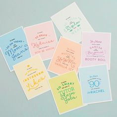 """You can make a set of """"Yo Mama"""" Mother's Day cards with a pair of scissors, a printer + paper by following this easy printable DIY project."""
