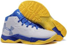 info for ca1ca b3b7b Under Armour SC30 Top Gun White Blue Yellow Stephen Curry Shoes, Basketball  Shoes On Sale