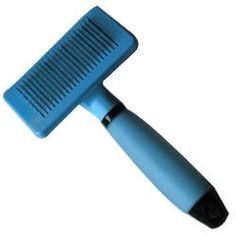 Iconic Pet Self-cleaning Brush with Silica Gel Soft Handle - Blue - Length of Brush Head : 100mm. Width of Brush Head:50mm. Total Length of Brush:180mmSelf Cleaning Brush (Silica Gel Soft Handle), allows soft and comfortable grip to hold and is made of ABS & Silicone Self-cleaning design allows you to remove the fallen hair conveniently by one press of the button after grooming the pets hair.It can be for both long and short coated breeds.Brush in the direction of hair growth. Warning…