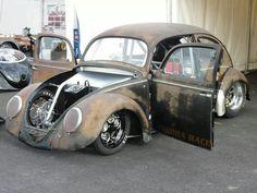 Rusty & Low Volkswagen Bug