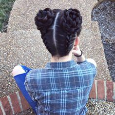 Say Hello To The New Instagram Trend : Two Buns Hairstyle More
