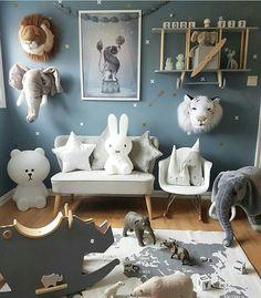 Unique Baby Boy Nursery Room Design Ideas With Animal That So Cute 06 Nursery Themes, Nursery Room, Kids Bedroom, Nursery Decor, Room Decor, Wall Decor, Baby Boy Rooms, Baby Boy Nurseries, Baby Room