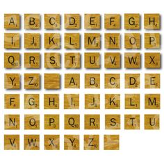 Downloadable scrabble tiles and they are free zum - Scrabble wanddeko ...