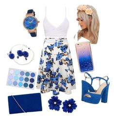 """""""Untitled #4"""" by deliadragan on Polyvore featuring Doublju, Jessica Simpson, Hobbs, Forever 21, Tiffany & Co. and Porsamo Bleu"""
