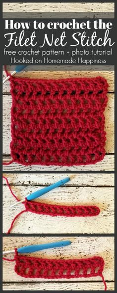 Today I wanted to share with you a quick photo tutorial of the Net Filet Stitch. It's a very easy stitch with a simple 1 row repeat. This is the stitch I used for the Urban Chic Cocoon Sweater. PATTERN Materials any yarn with appropriate hook size yarn needle scissors Level easy Pattern Notes & …