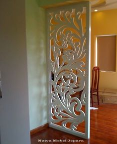 Room partition designs - Stunning Privacy Screen Design for Your Home 20 Wooden Partition Design, Wooden Partitions, Room Partition Designs, Screen Design, Door Design, Wood Panel Walls, Panel Wall Art, Wood Wall, Living Room Partition