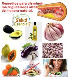 Remedios para disminuir trigliceridos altos de manera natural