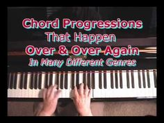 Chord Progressions That Repeat In Many Different Styles & Songs Piano Y Violin, Le Piano, Piano Music, Piano Jazz, Guitar, Play That Funky Music, Music Love, Piano Lessons, Music Lessons