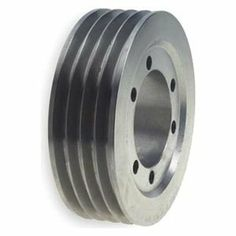 V-Belt Pulley, 6.5 In OD, 4GRV by Gates. $119.87. V-Belt Pulley, Quick Detachable Bushed Bore, Bore Dia. Bushing Required, SK Bushing Required, Outside Dia. 6.50 In., 4 Groove, Solid Construction, 3V Belt Pitch Dia. 6.45 In., Pitch Pitch Diameter is 0.05 In. Less than Outside Diameter, Cast Iron Material, For Use With 3V or 3VX Single and Joined Type V-Belts, RMA and MPTA 3V and 5V Quick Detachable SheavesFor use with single and joined type V-belts.RMA and MPTA compliant.Cas...