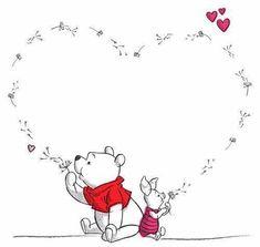 Pooh and piglet Pooh and piglet – Disney Crafts Ideas Winnie The Pooh Tattoos, Winnie The Pooh Quotes, Winnie The Pooh Friends, Winnie The Pooh Drawing, Winnie The Pooh Pictures, Cute Disney, Disney Art, Disney Dream, Disney Drawings