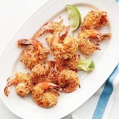 Coconut-Crusted Shrimp Recipe - Martha Stewart & ZipList