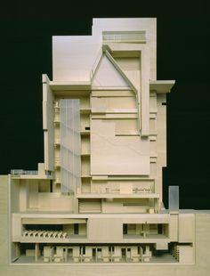 american folk art museum - nyc - tod williams + billie tsien - 2001 - sectional model