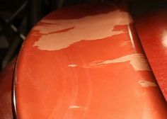 How to repair peeling car paint.